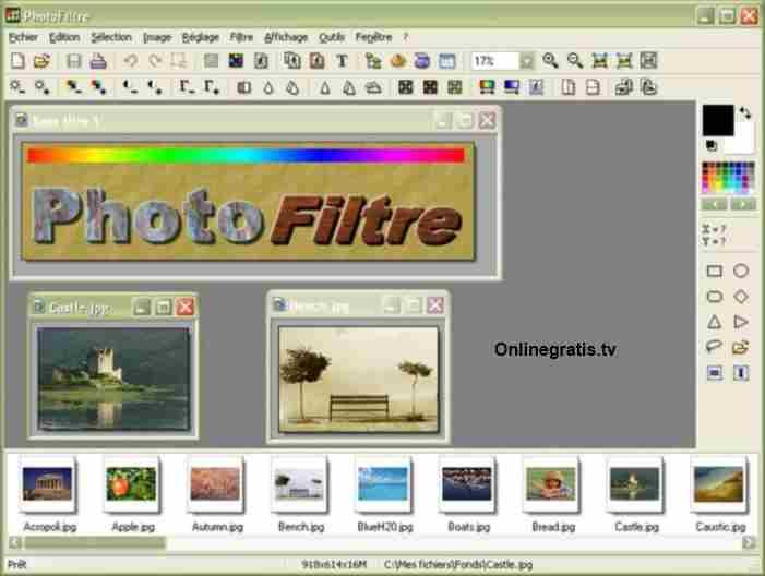 PhotoFiltre Creador